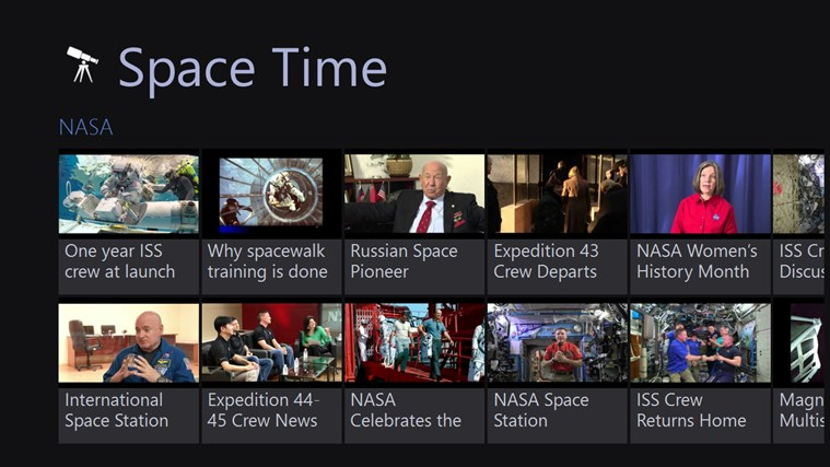 Space Time channels youtube