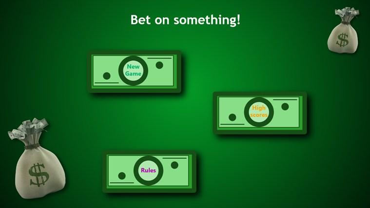 Bet on something