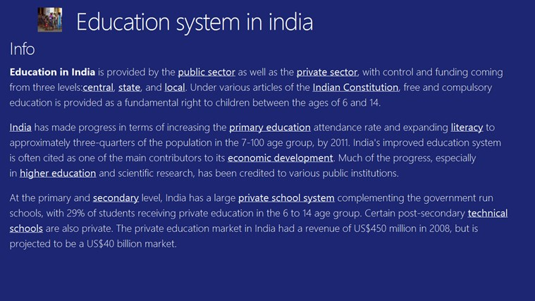 education system of india