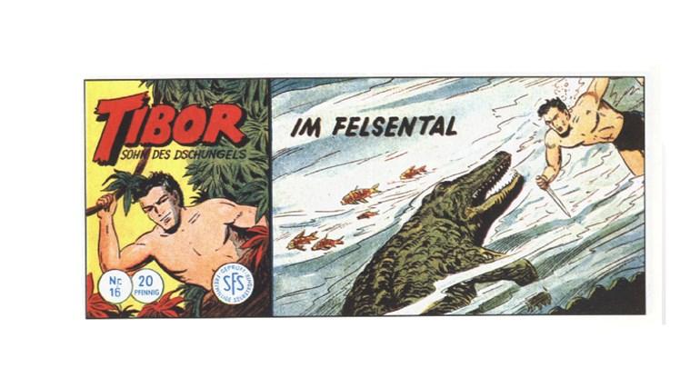 Tibor Comic - Band 16