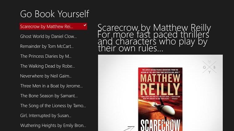 book review scarecrow matthew reilly oral presentation