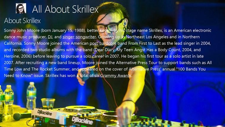 All About Skrillex skrillex youtube