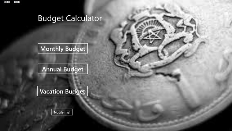 Calculate Your Budget