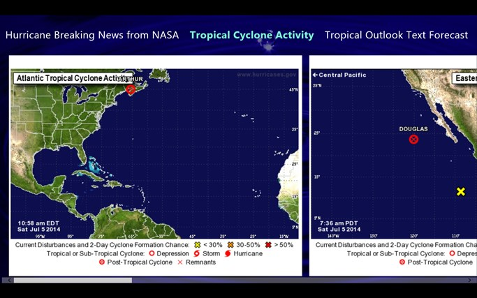 Hurricane and Tropical Storm Report