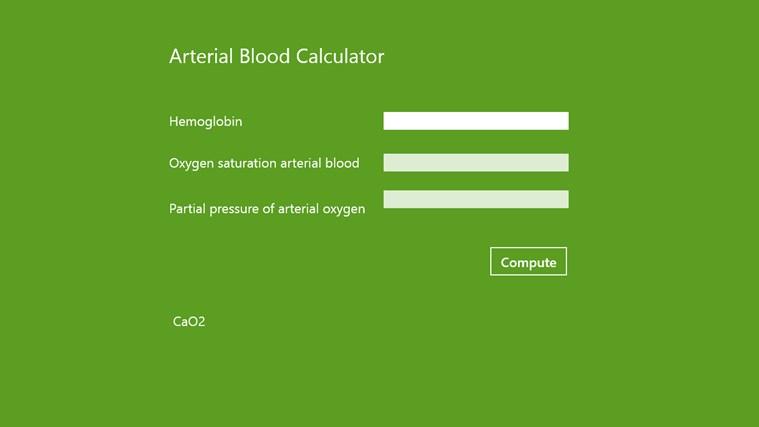 Arterial Blood Analyzer
