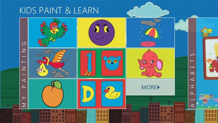 GS Kids Paint & Learn image trace paint