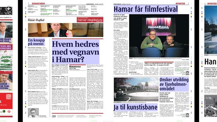 Hamar Dagblad eAvis dagblad news