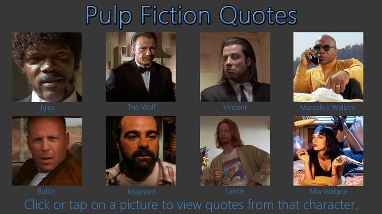 pulp fiction best quotes  quotesgram