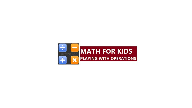MATH FOR KIDS PLAYING WITH OPERATIONS dvd playing