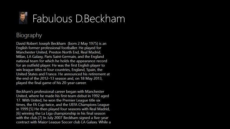 Fabulous D.Beckham beckham united