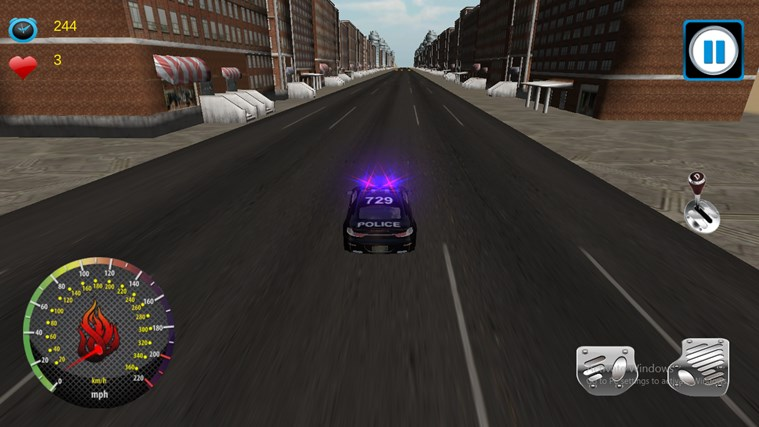 Police Theif Chase