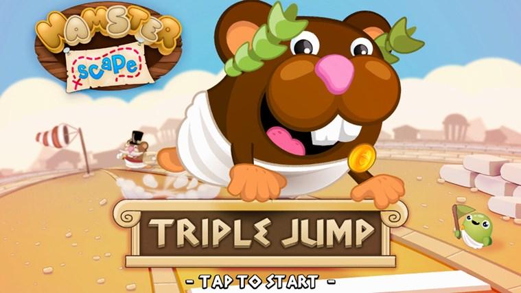 Hamsterscape: Triple Jump