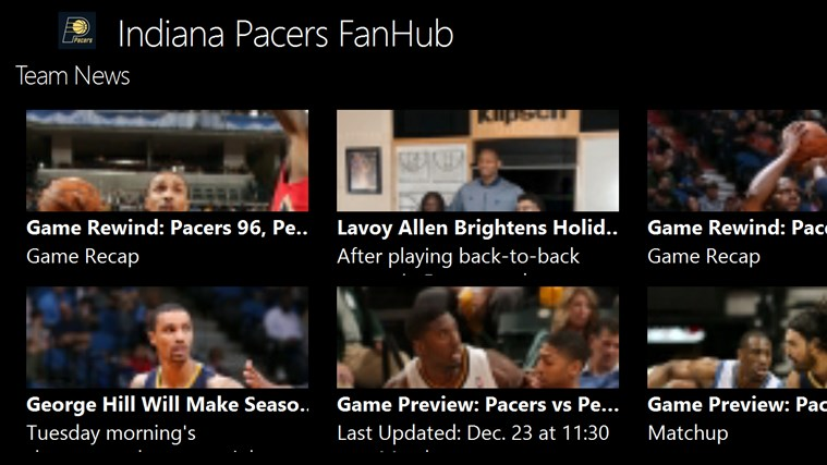 Indiana Pacers FanHub