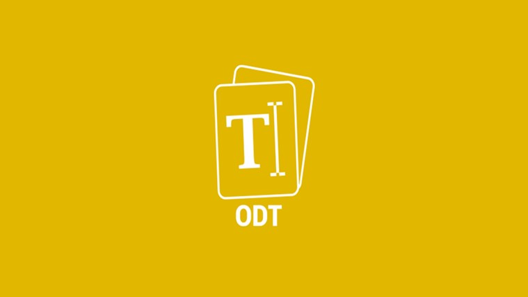 Open your ODT Files
