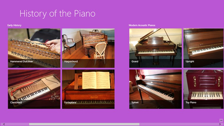 a history of the piano This piano history timeline starting from the 1700s to the 2000s hits on all the important dates from the birth to the modern day of the piano.