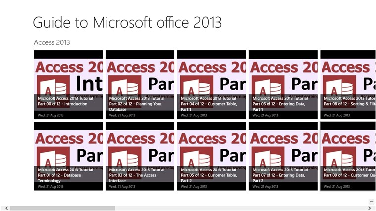 Guide to Microsoft Office Applications Office 2013 applications