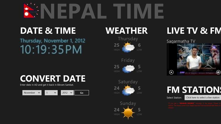 Nepal Time