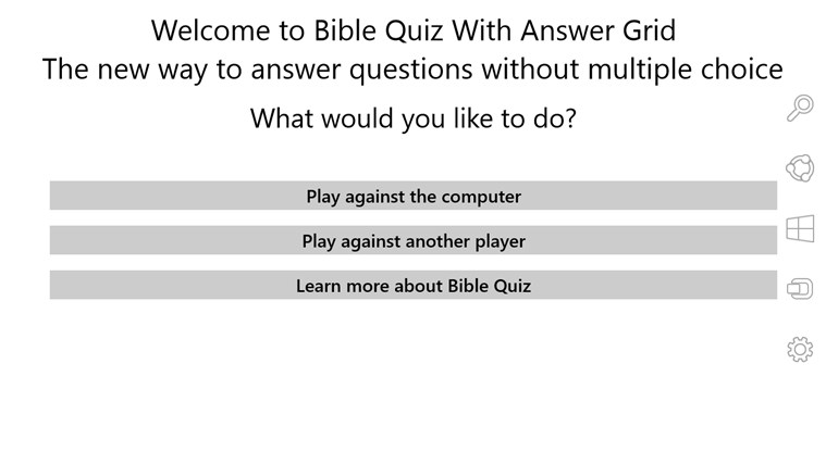 Bible Quiz bible marcus