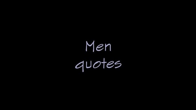 Men Quotes emo quotes xanga