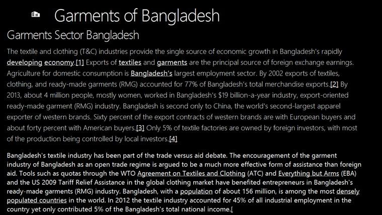 Garments of Bangladesh