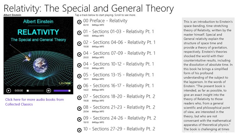an analysis of the special and general theory of relativity introduced by albert einstein Einstein's general theory of relativity albert einstein on the special theory of relativity introduced the final version of general.