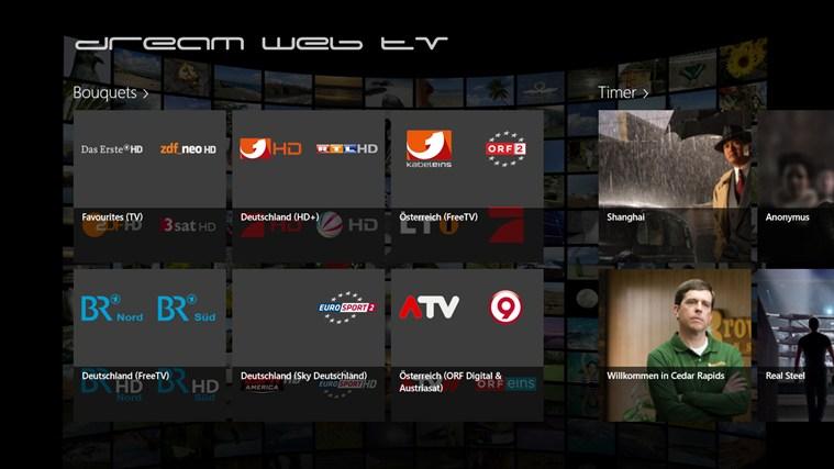 dream web tv Windows app | OfficialSoft