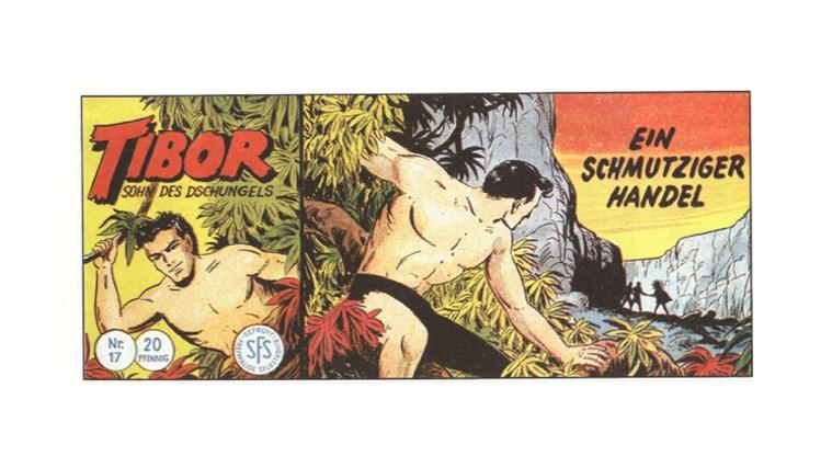 Tibor Comic - Band 17