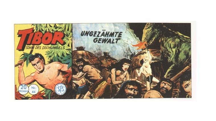 Tibor Comic - Band 44