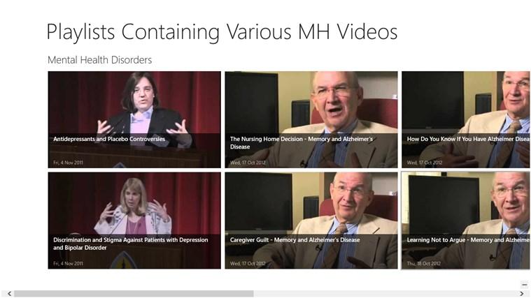 Mental Health Videos