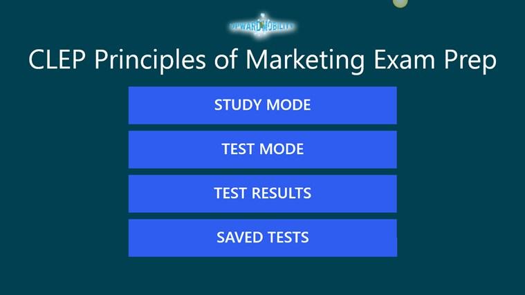 CLEP Principles of Marketing Exam Prep marketing ministries