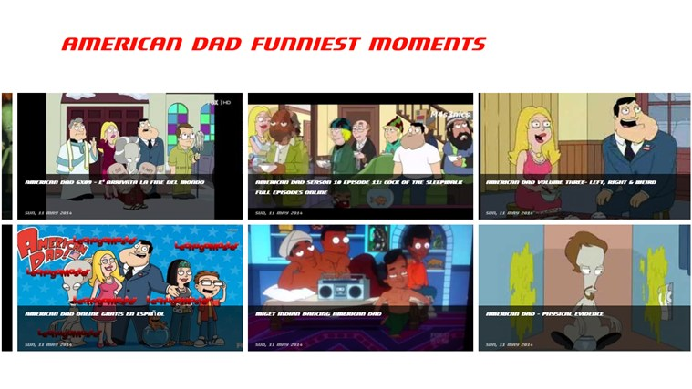 American Dad Funniest Moments american player