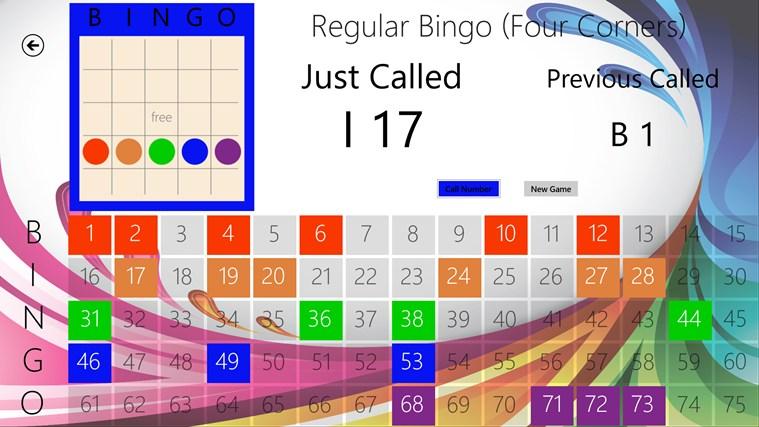 Monkey Bingo bingo calling card