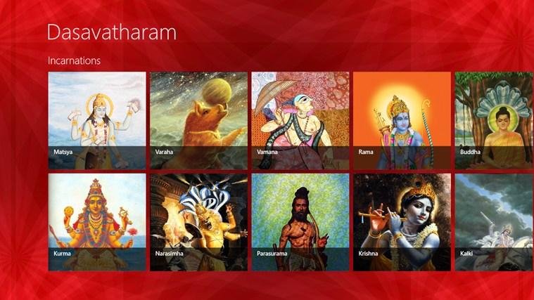 Dasavatharam Windows App Lisisoft