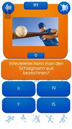 Baseball Quiz Deutsch
