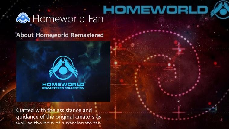 Homeworld Fan