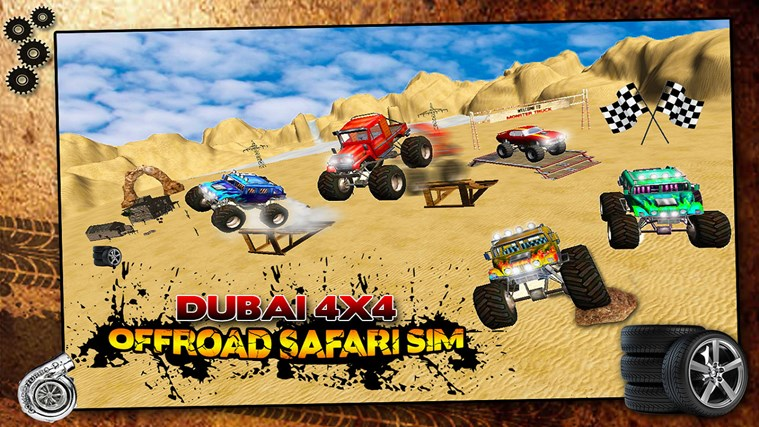 Monster Truck Offroad Safari