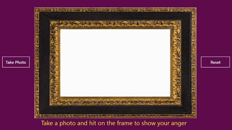Break the frame photo