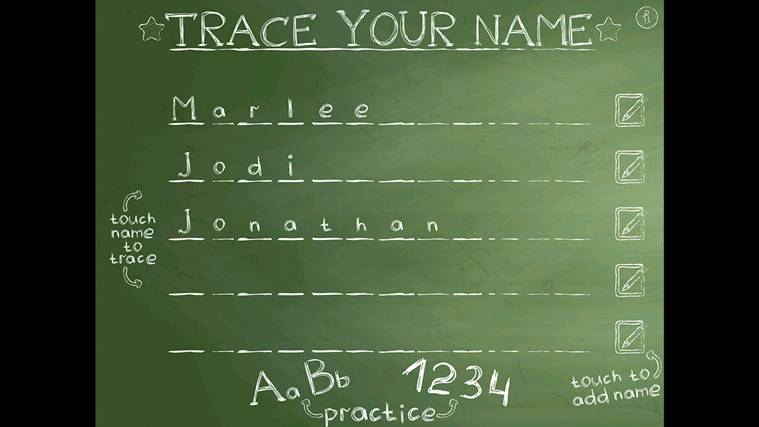 Trace Your Name image trace paint