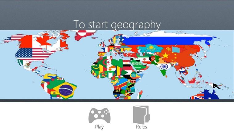 To start Geography dvd start