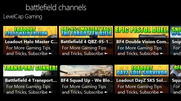 battlefield channels channels
