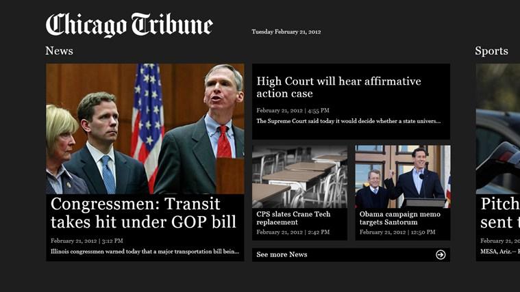 Chicago Tribune tribune world