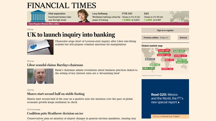 in this time of limited financial The financial times is one of the world's leading news organisations, recognised internationally for its authority, integrity and accuracy.