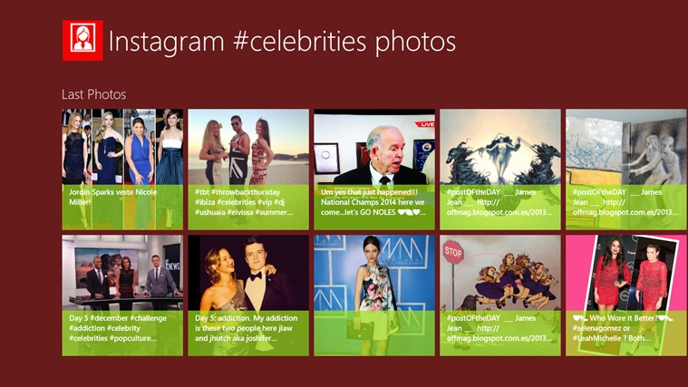 Insta Celebrities celebrities oops female photos
