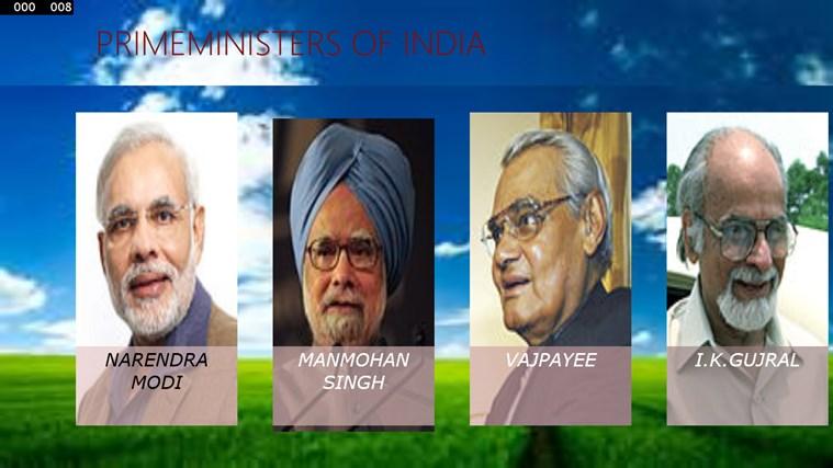 PRIMEMINISTERS OF INDIA