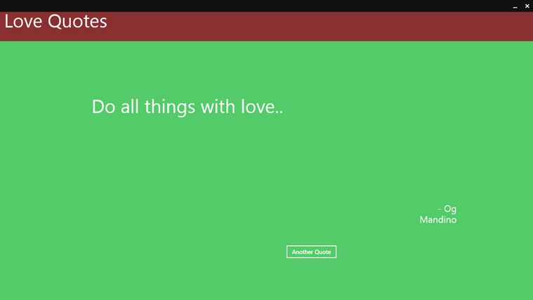 Love Quotes converter App