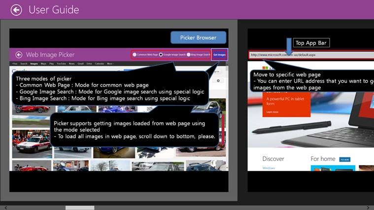 Web Image Picker image trace paint