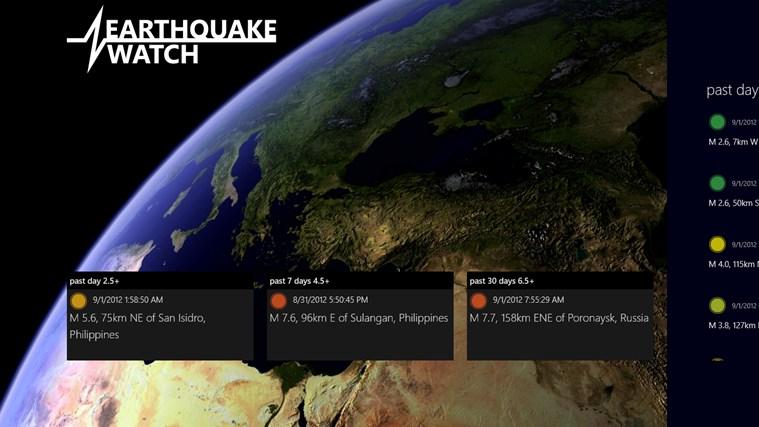 Earthquake Watch