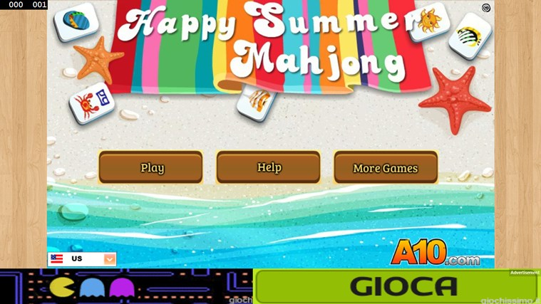 Happy Summer Mahjong W8