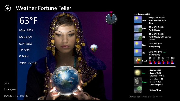 Weather Fortune Teller weather