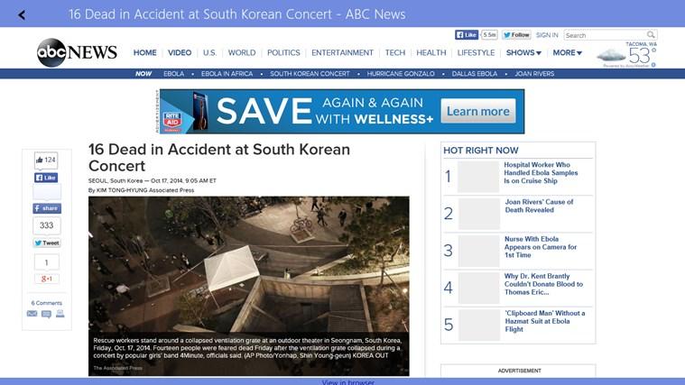 News Reader for Google News
